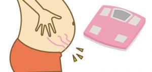 妊娠線予防に運動!
